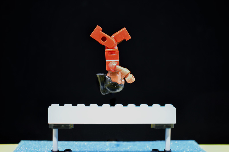 Toy Summer Olympics 2 6IN - day 12 - balance beam - Tao Liao