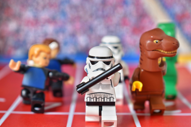 Toy Summer Olympics 2 6IN - day 16 - 4x400 m relay - Tao Liao