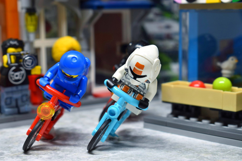 Toy Summer Olympics 6IN - day 2 - road cycling - Tao Liao