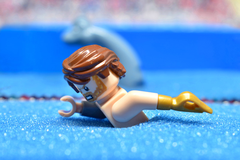 Toy Summer Olympics 6IN - day 5 - 100m free style - Tao Liao