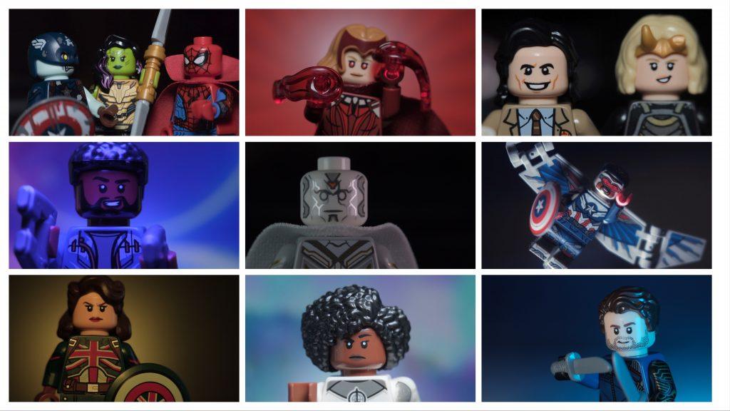 Marvel CMF - the perry lego adventures
