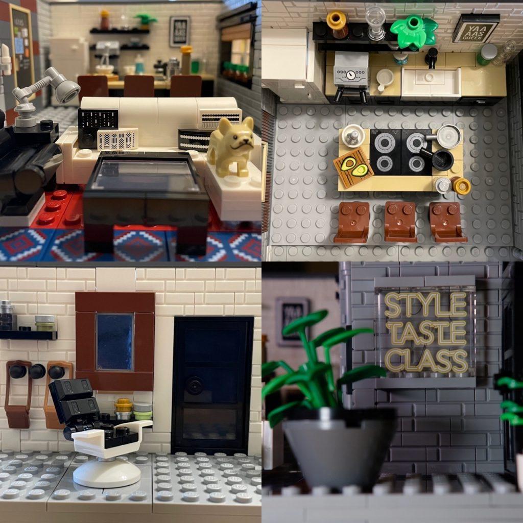 Queer Eye LEGO The LOFT