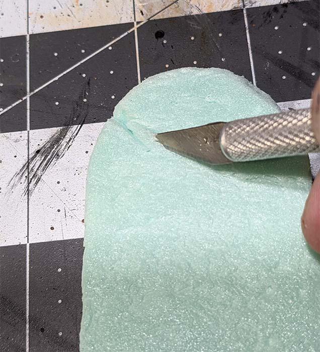 tombstone cutting cracks