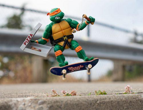 Super7 TMNT Ultimates Michelangelo Review