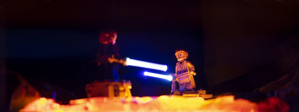 You were my brother, Anakin. I loved you. Toy photography by Tom Milton as part of the post Welcome to Mustafar: Diorama Building with Jelly
