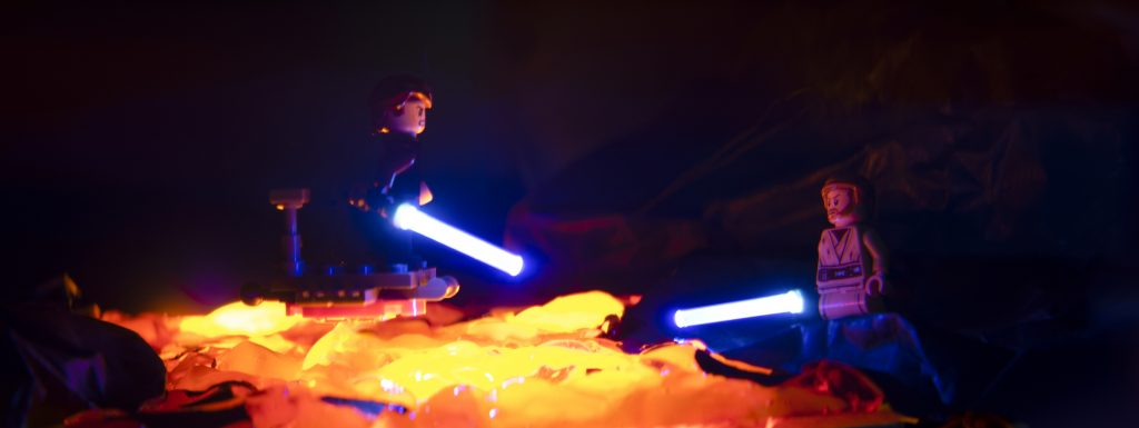 Well, then you are lost! Toy photography by Tom Milton as part of the post Welcome to Mustafar: Diorama Building with Jelly