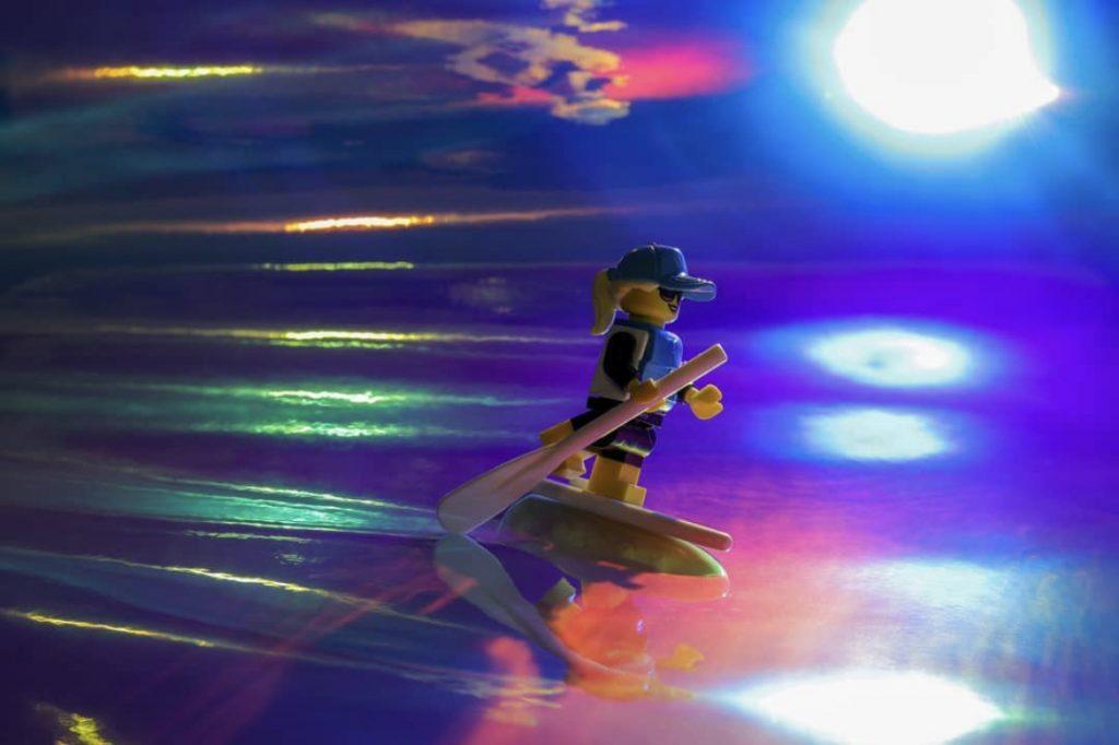 Sunset Surfer Girl - enaje_images