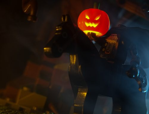 LEGO How To: Headlights on Headless Horseman