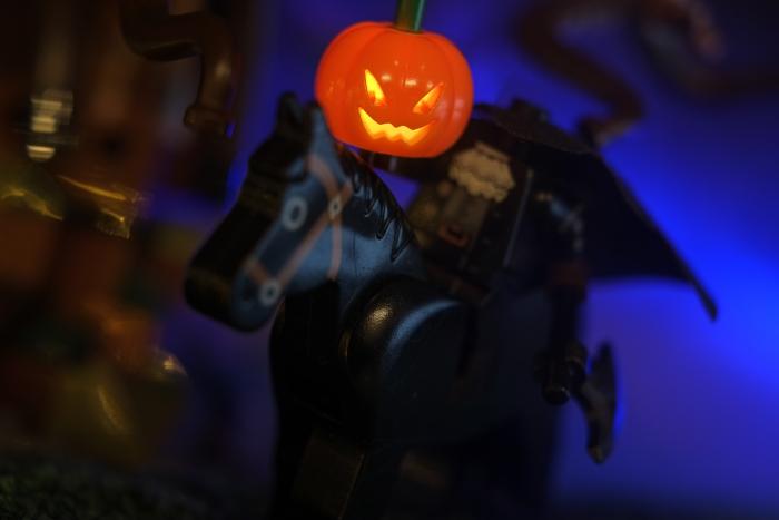 Lego custom Headless Horseman minifigure